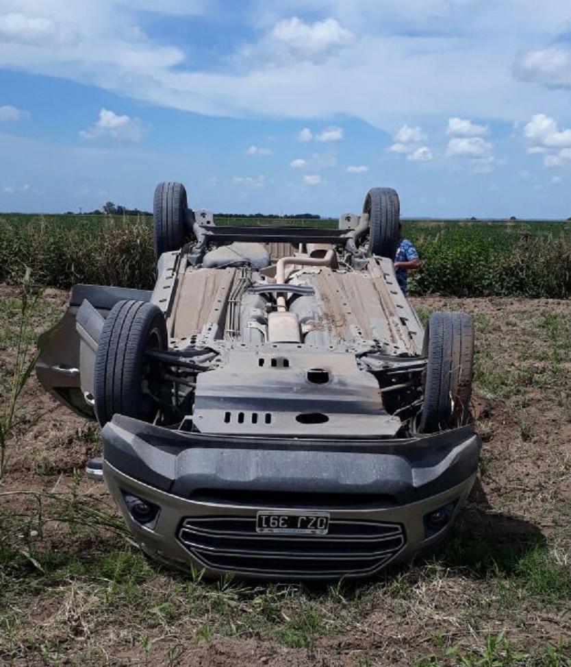 Accidente camino a 60 cuadras 1 • Canal C