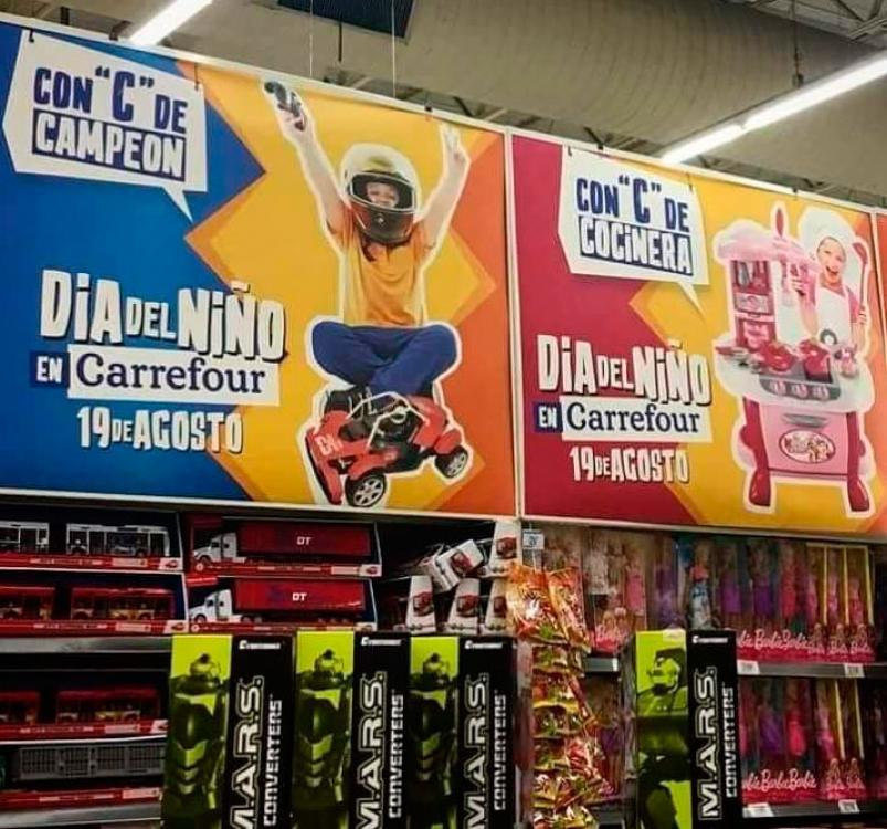 """Carrefour largó una publicidad """"sexista"""" y en las redes estalló el enojo • Canal C"""