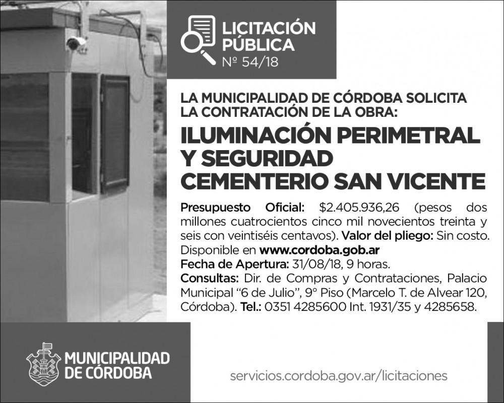 Invertirán más de $2 millones en el Cementerio San Vicente • Canal C