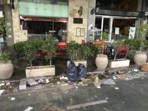La suciedad de las calles, tras las movilizaciones a favor del aborto • Canal C