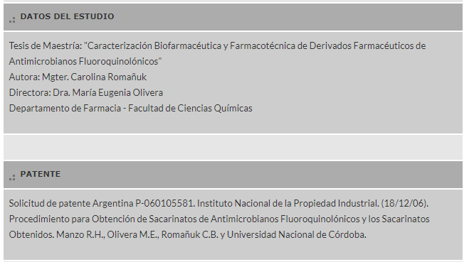 Antibióticos: UNC patentó una nueva fórmula • Canal C