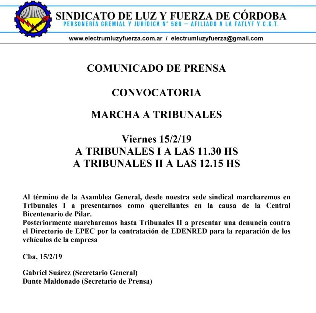 Presentan denuncia contra el directorio de EPEC • Canal C