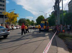 Un auto fue embestido por un colectivo en barrio San Vicente • Canal C