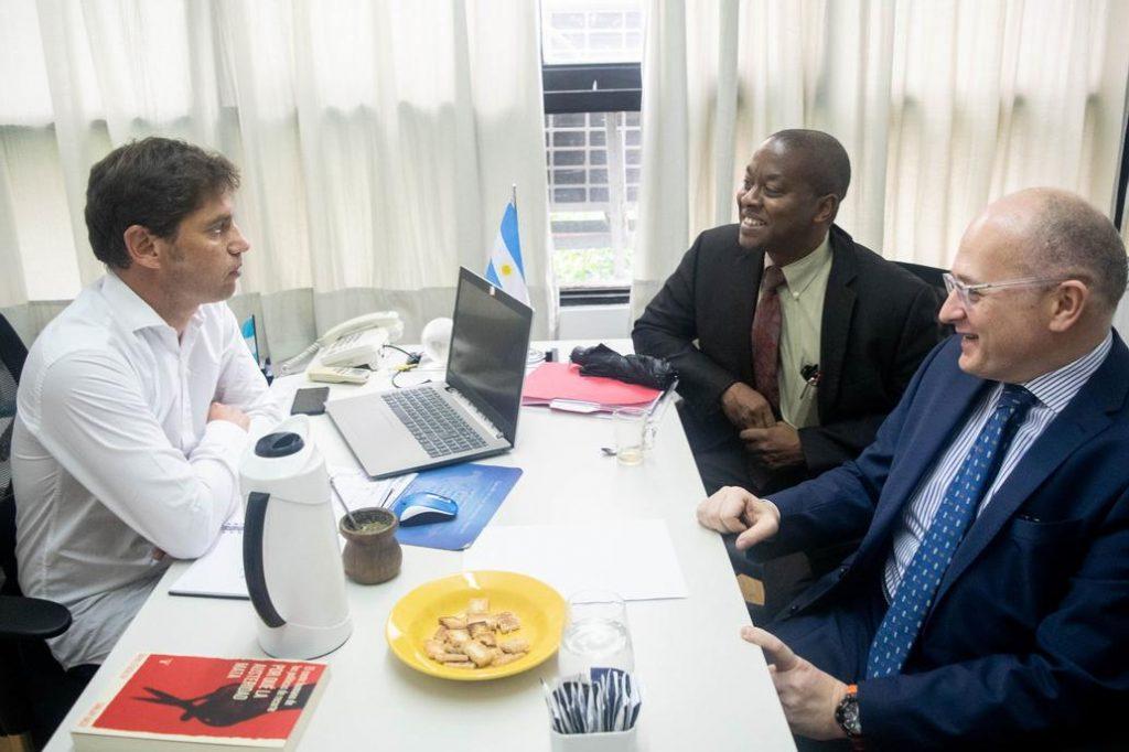 Kicillof se reunió con el FMI • Canal C