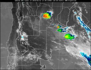 Alerta por tormentas fuertes en Córdoba • Canal C