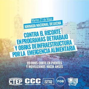 Trabajadores se movilizarán hoy contra el ajuste • Canal C