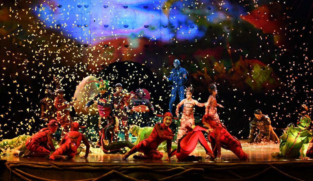 Cirque du Soleil abre sus contenidos