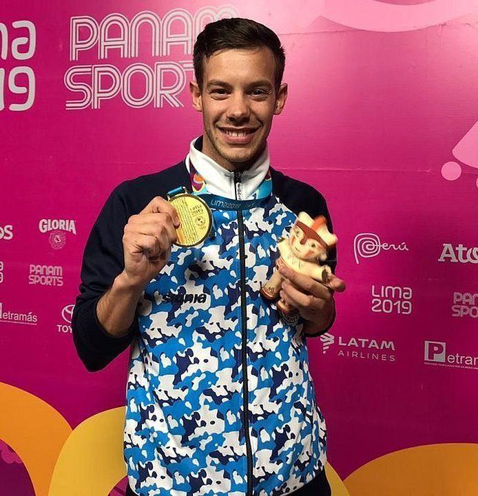 Sánchez ganó la primera medalla de oro de la Argentina • Canal C