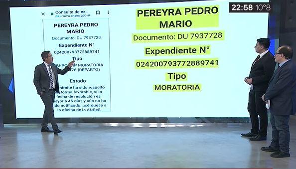 Resultado de imagen para ADN Mario Pereyra