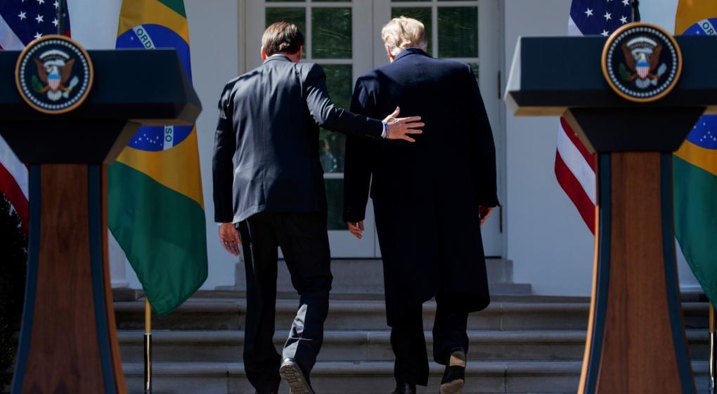 Bolsonaro le sugirió a Trump visitar Argentina • Canal C