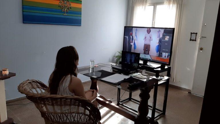 Primer matrimonio virtual en Córdoba • Canal C