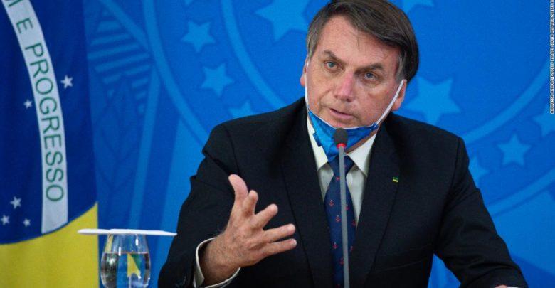 Bolsonaro asistió a manifestación en medio de la pandemia – Canal C