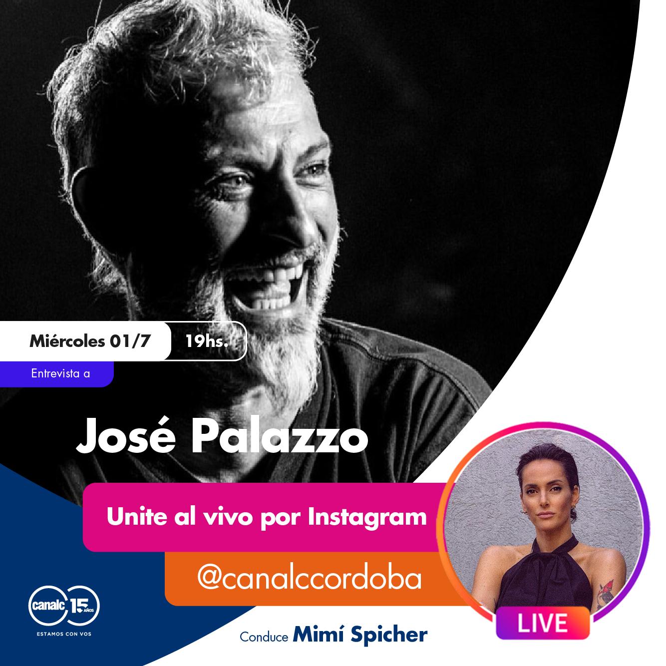 ¡Se viene el Instagram Live con José Palazzo! • Canal C