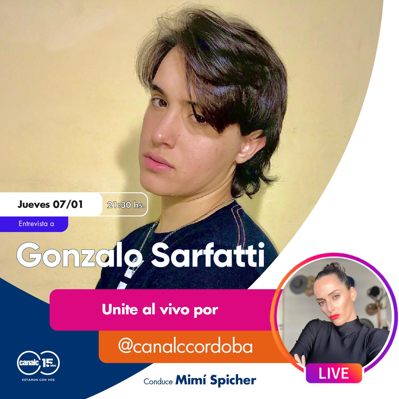Este jueves, viví el Instagram Live de Mimí Spicher con Gonzalo Sarfatti • Canal C