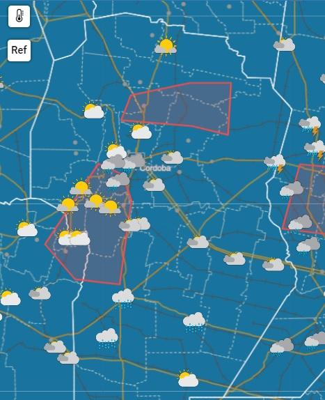 Alerta por tormentas en el interior provincial • Canal C