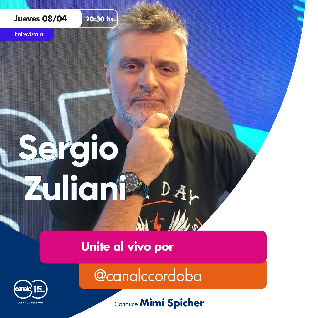 ¡Llega Sergio Zuliani al Instagram Live! • Canal C