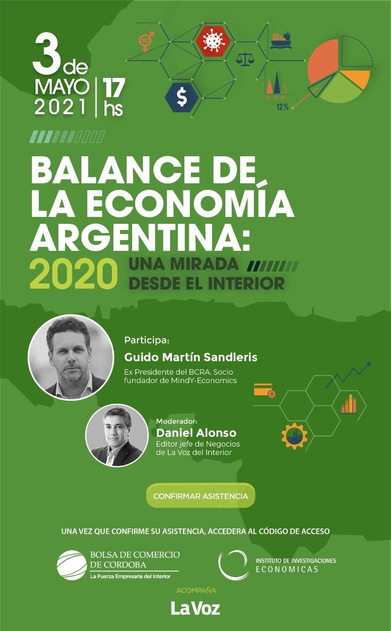 """Llega la edición 27° del """"Balance de la Economía Argentina"""" • Canal C"""