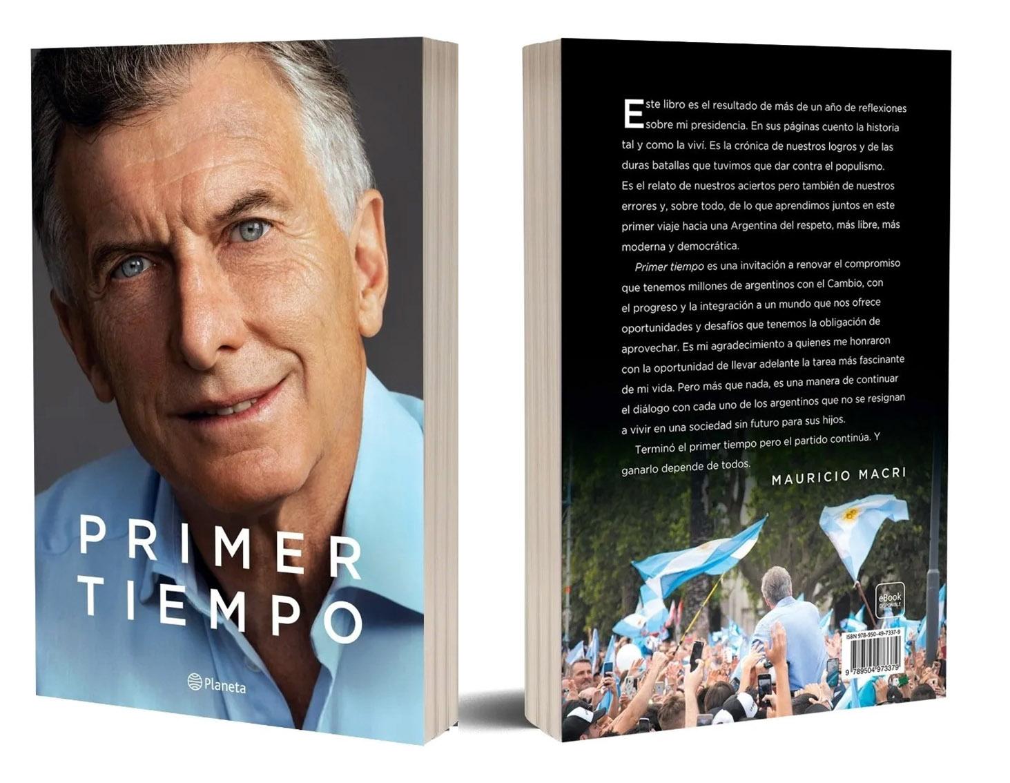 """Libro: """"Primer Tiempo"""""""