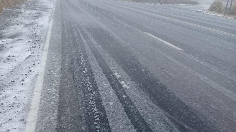 Por la nevada cortaron el camino a las Altas Cumbres • Canal C
