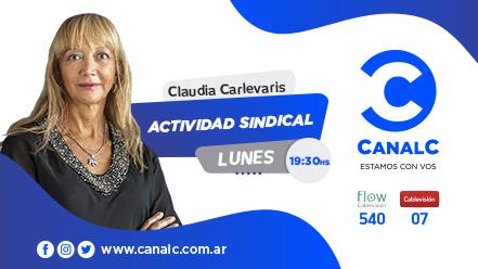 CANAL C Banner Actividad Sindical 1 • Canal C