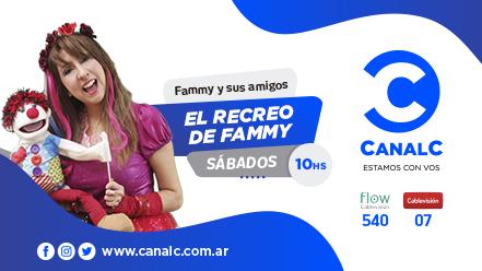 CANAL C Banner El recreo de Fammy • Canal C