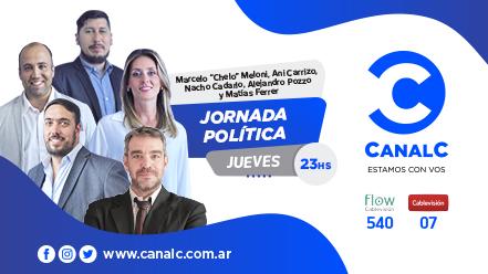 CANAL C Banner Jornada Politica • Canal C