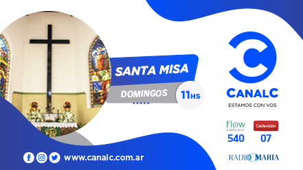CANAL C Banner Santa Misa • Canal C