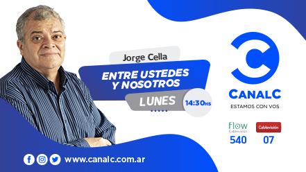 CANAL C Banner entre ustedes y nosotros • Canal C