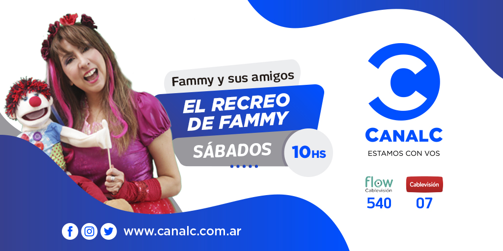 Canal C Twitter El recreo de Fammy • Canal C