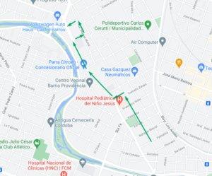 Desvíos de tránsito por obras de bacheo • Canal C