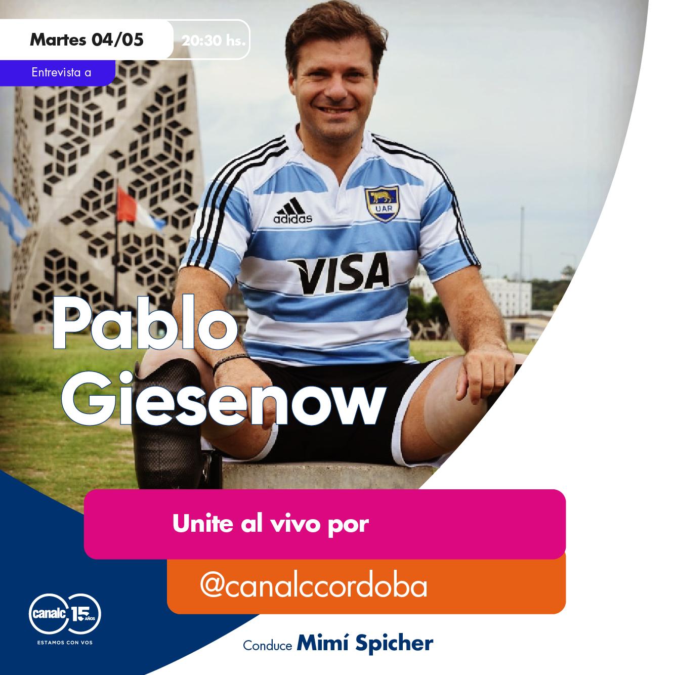 ¡Pablo Giesenow llega al Instagram Live de Canal C! • Canal C