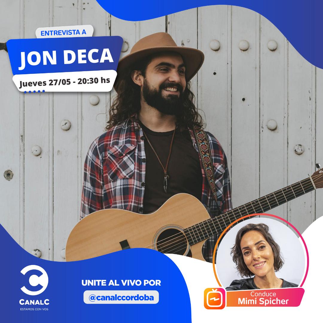 ¡Llega el Instagram Live con Jon Deca! • Canal C