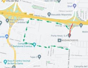 desvio valparaiso dsde ctro a sur 300x233 1 1 • Canal C