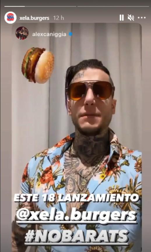 Xela Burger: el nuevo proyecto gastronómico de Alexander Caniggia • Canal C