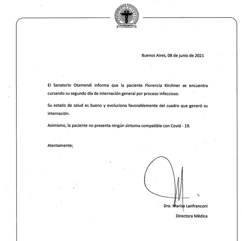 Internaron a Florencia Kirchner • Canal C