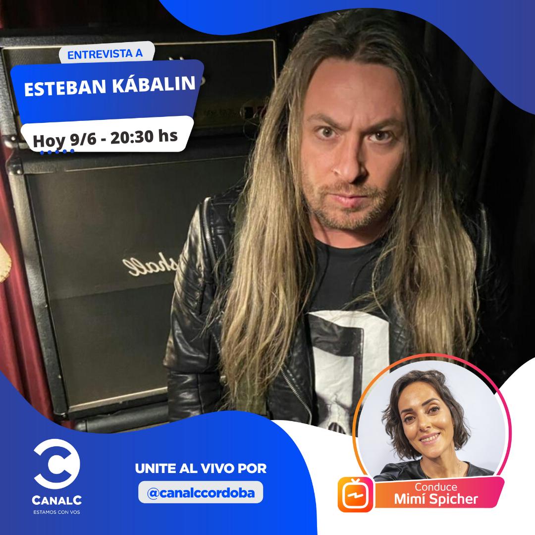 ¡Llega Esteban Kábalin al Instagram Live! • Canal C