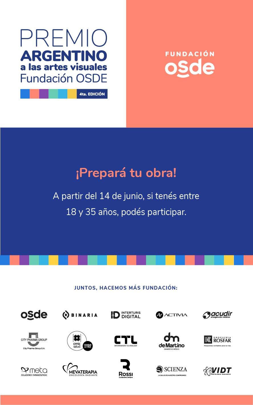 OSDE presenta la 4° Edición del Premio Argentino a las Artes Visuales • Canal C