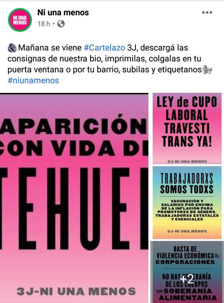 #NiUnaMenos marcha hoy en todo el país • Canal C