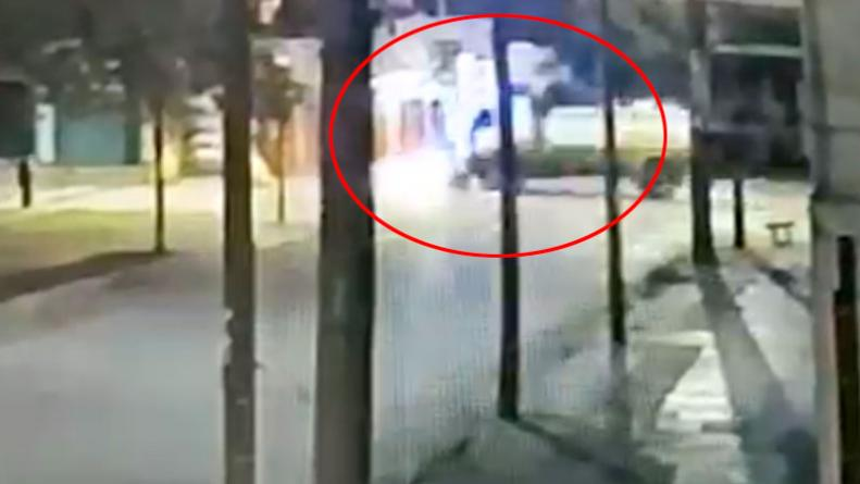 Un camión de bomberos chocó a un auto: imputaron al conductor • Canal C