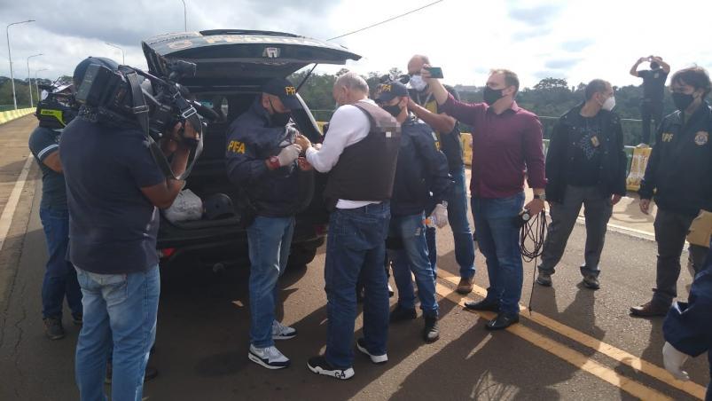 """El """"Pato"""" Cabrera fue extraditado a Foz de Iguazú • Canal C"""