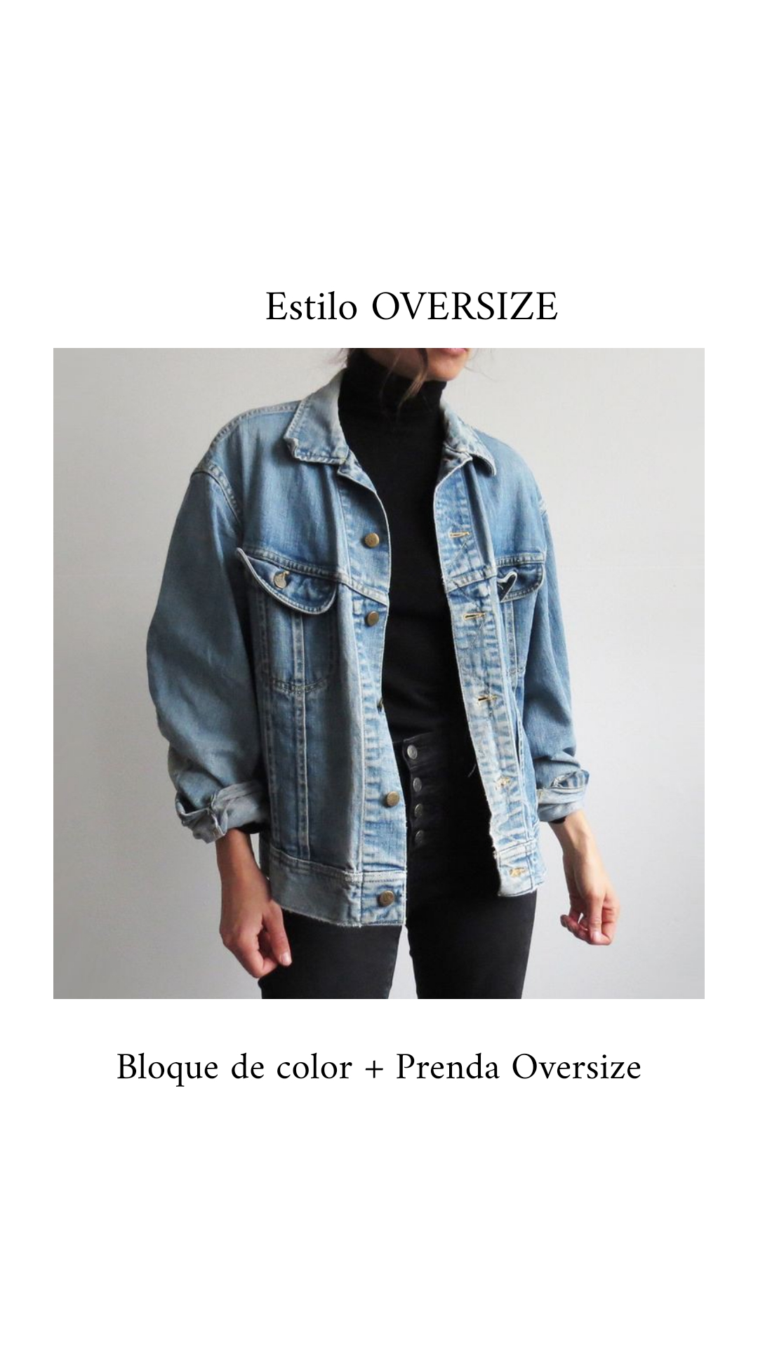 Tendencia Oversize : más que moda un estilo • Canal C