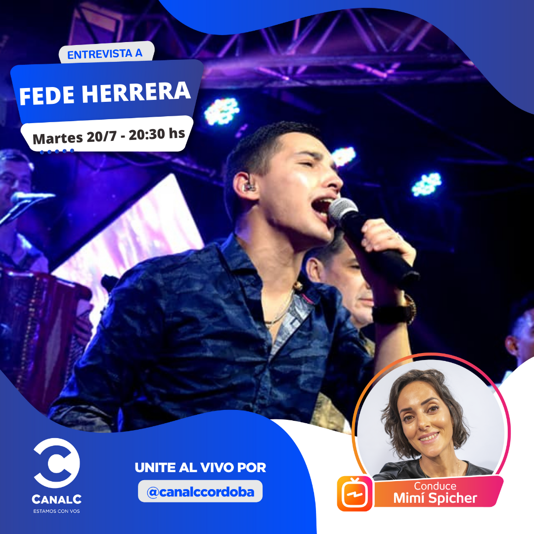 ¡Llega Fede Herrera al Instagram Live! • Canal C