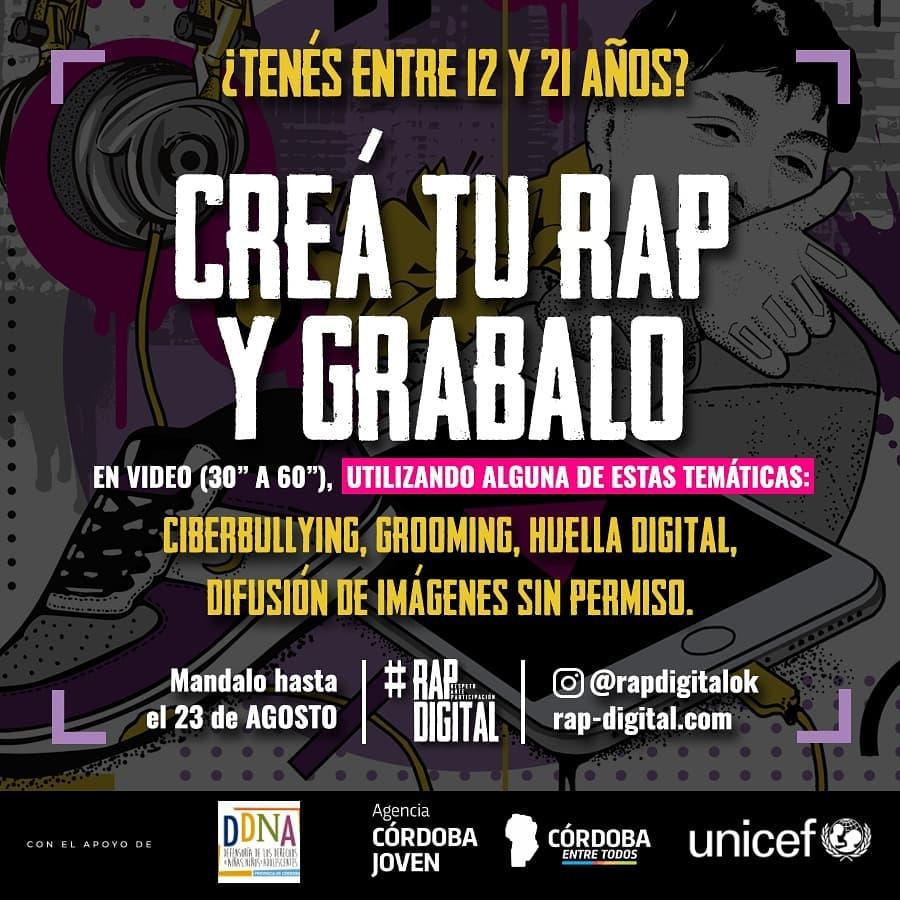 """Lanzan el concurso """"RAPDigital"""" • Canal C"""