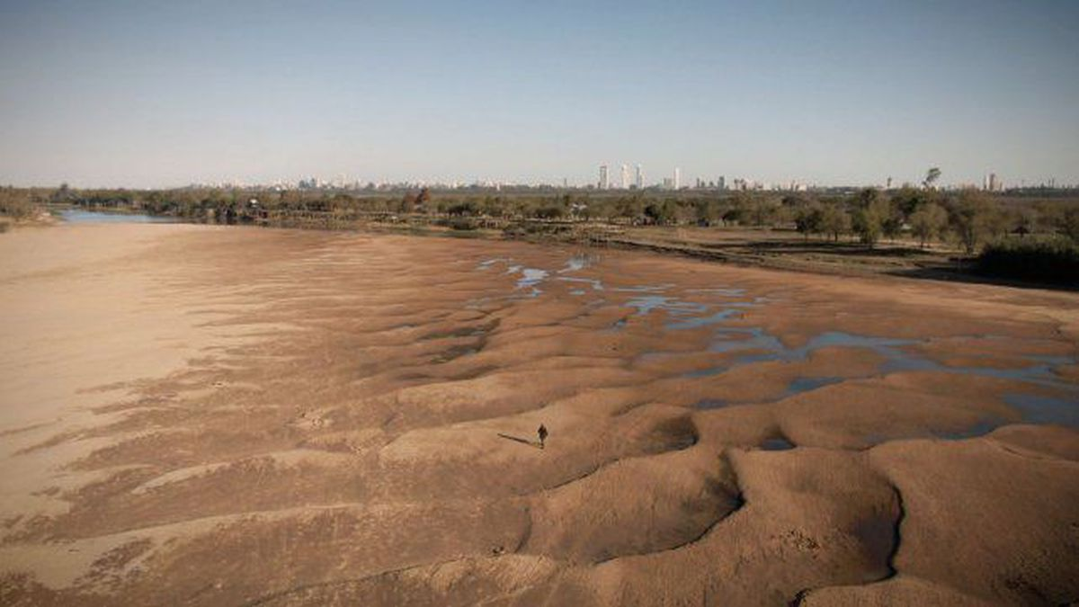 Histórica bajante del río Paraná • Canal C