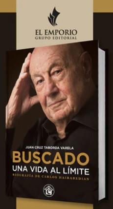 """Carlos Hairabedian presentó su libro """"Buscado: una vida al límite"""" • Canal C"""