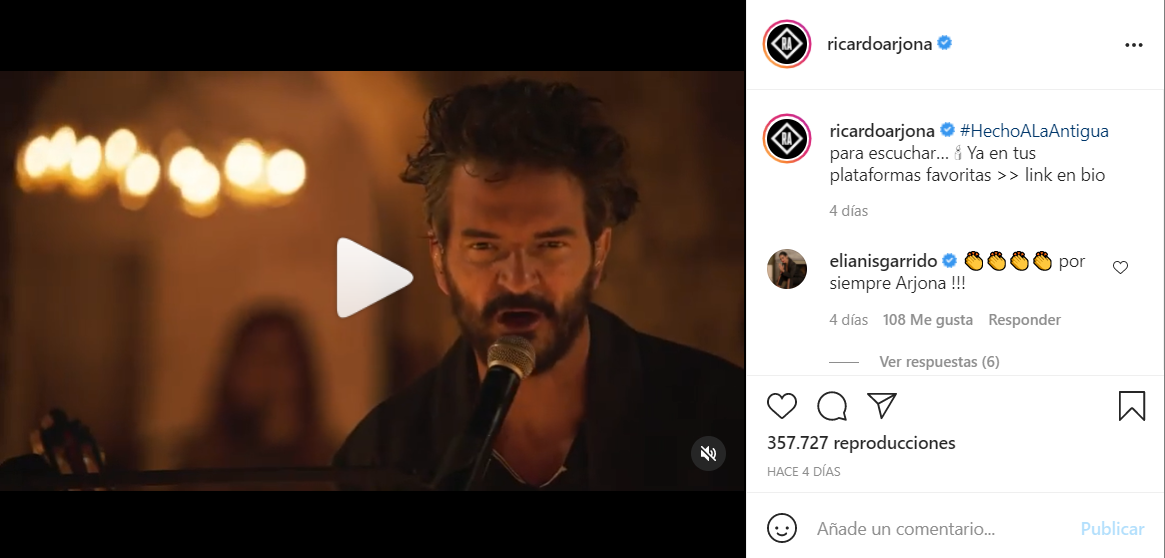 """Ricardo Arjona convirtió """"Hecho a la antigua"""", su concierto vía streaming, en un álbum en vivo • Canal C"""