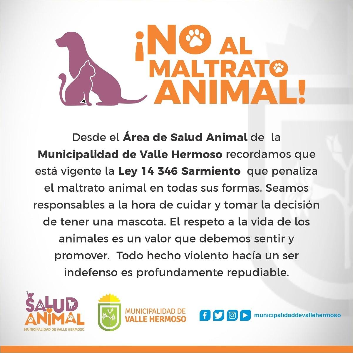Denunciaron al ex intendente de Valle Hermoso por maltrato animal • Canal C