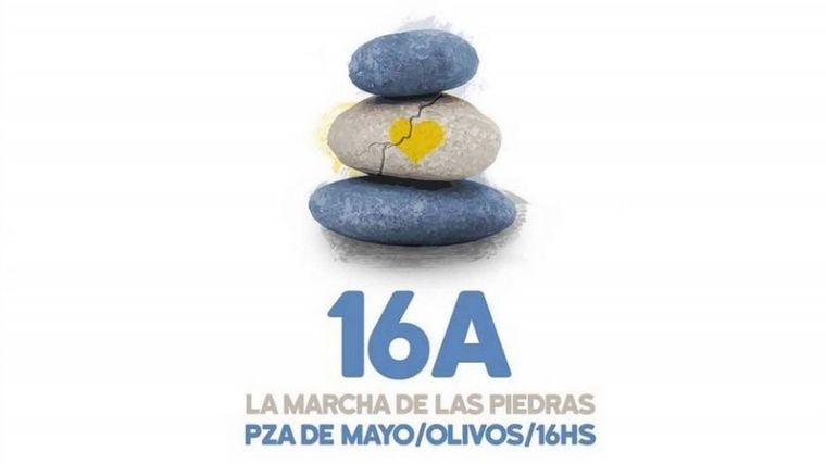 Marcha de las Piedras: rinden homenaje a fallecidos por la pandemia • Canal C