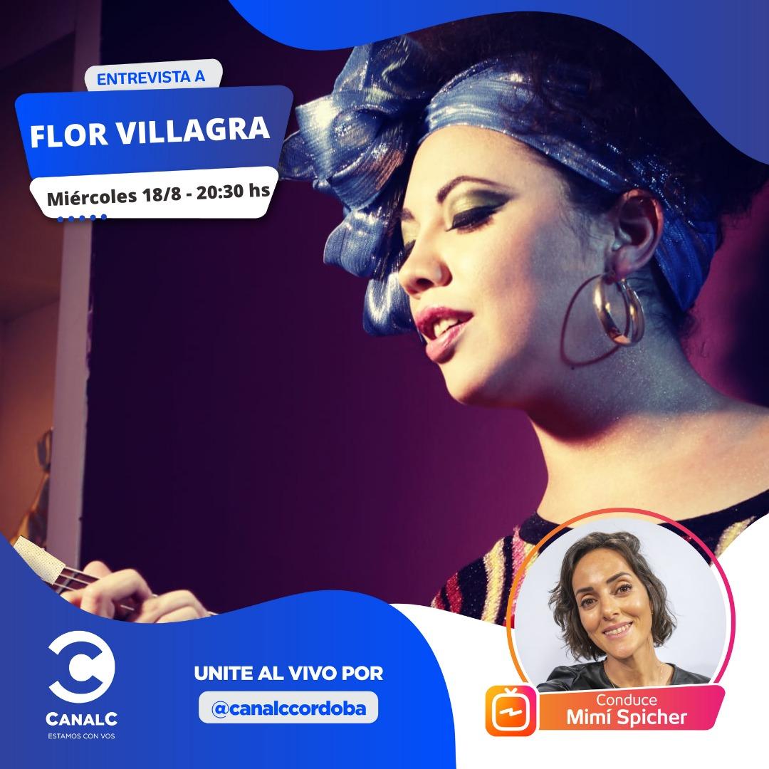 ¡Se viene el Instagram Live con Flor Villagra! • Canal C