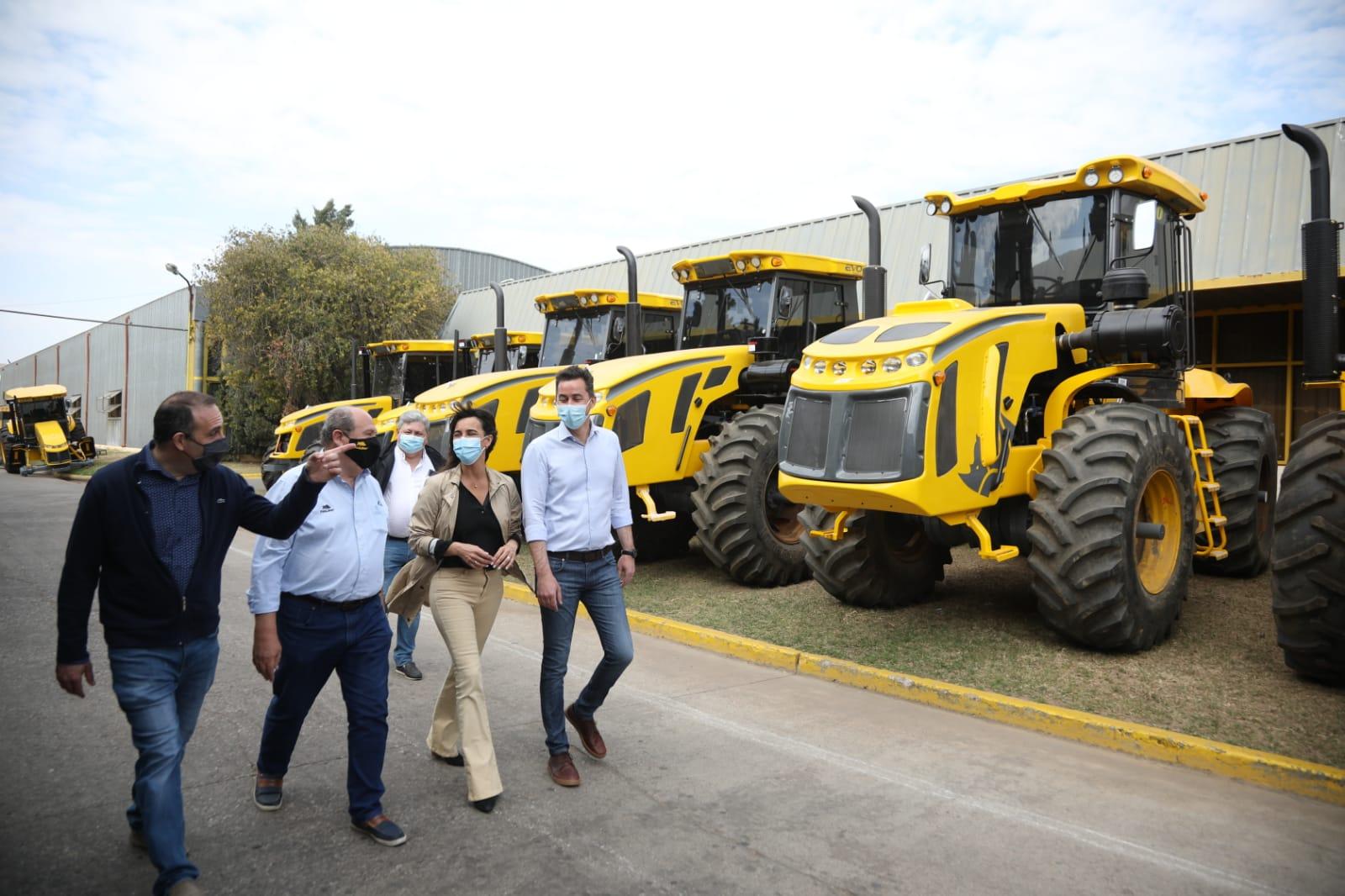 En Pauny, Calvo y De la Sota expresaron su apoyo a la industria de Córdoba • Canal C